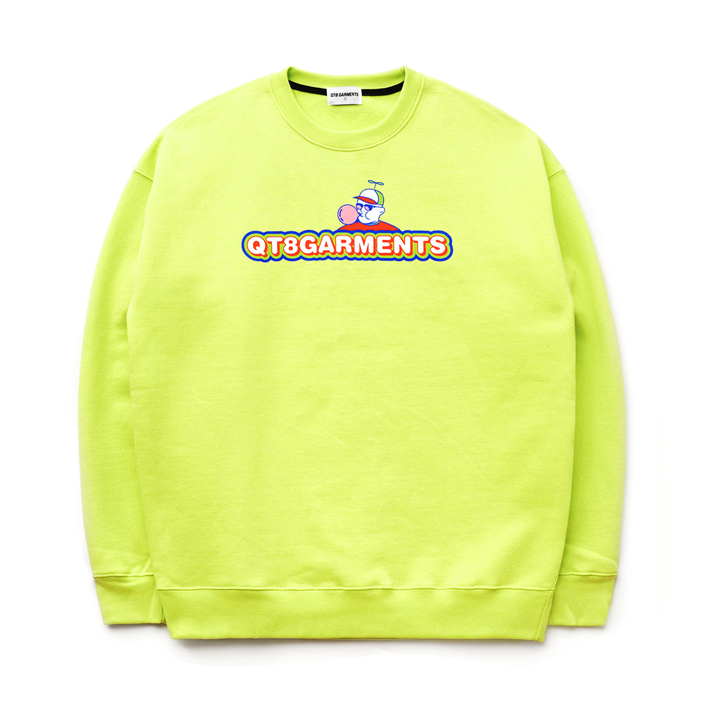 IG Bubble Sweat Shirt (Lime)