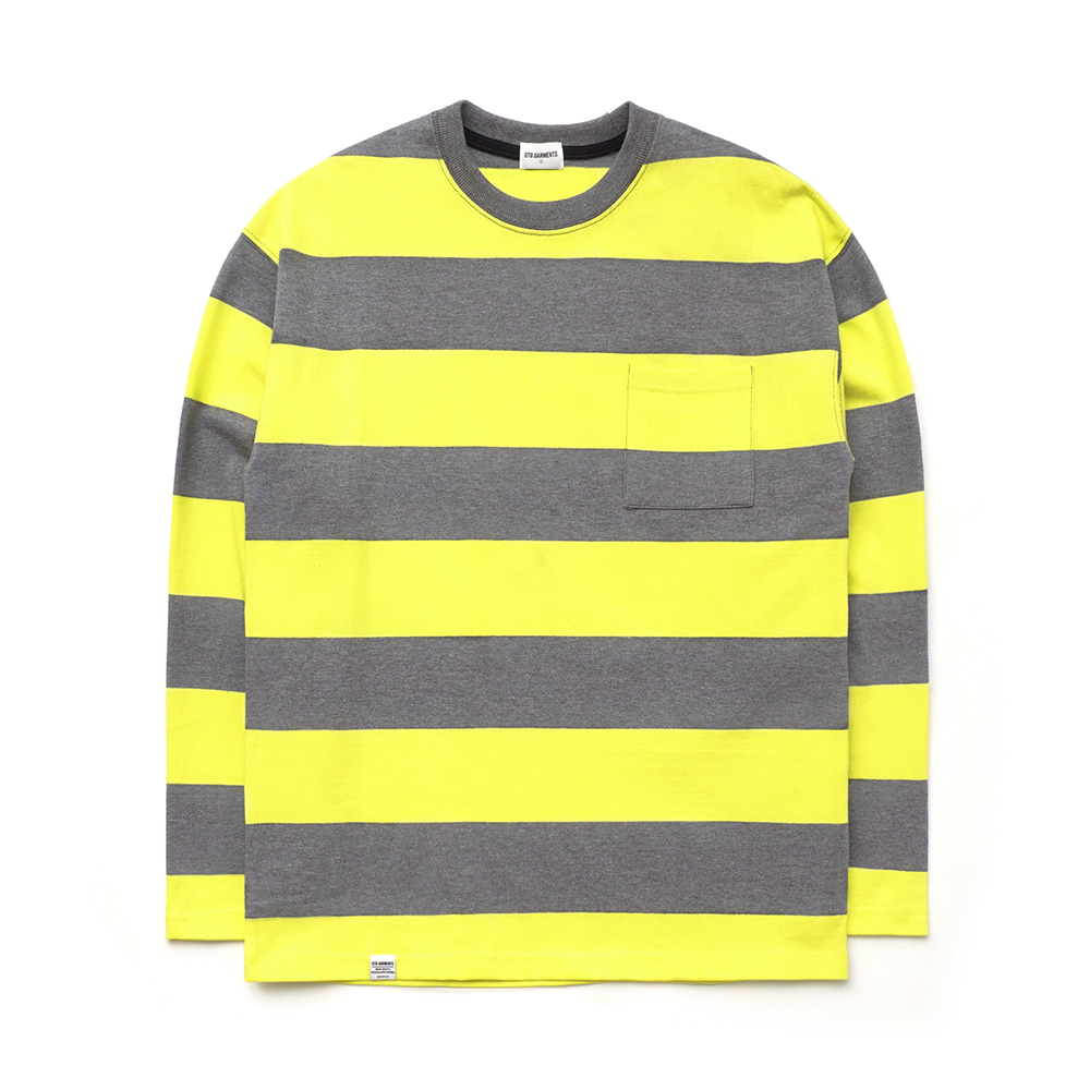 IG Wide L Sleeve (Grey/Lemon)