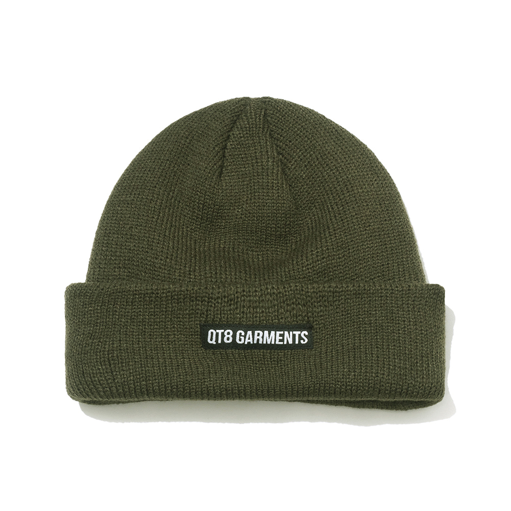 IG Short Label Beanie (Khaki)