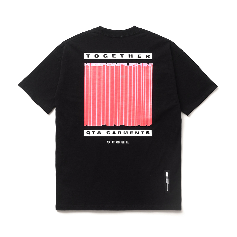 FG 3D Pillar Tee (Black)