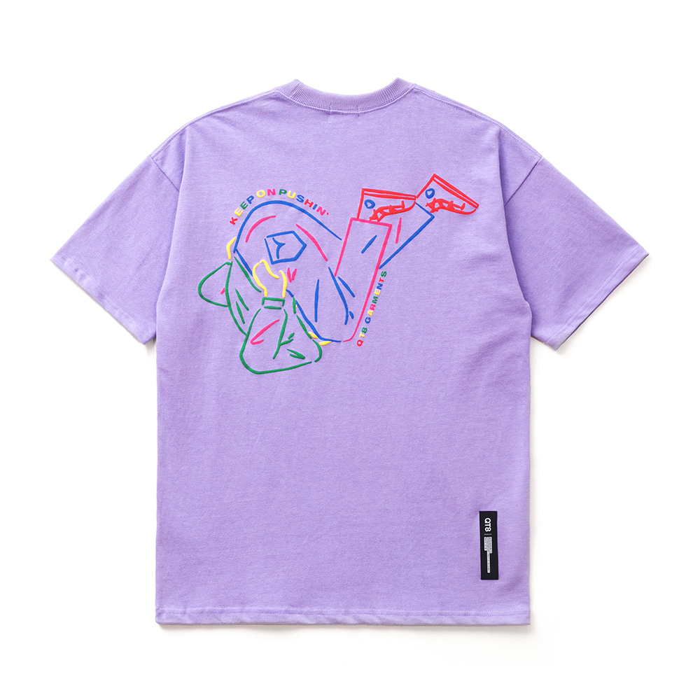FG Tumbling Tee (Light Purple)
