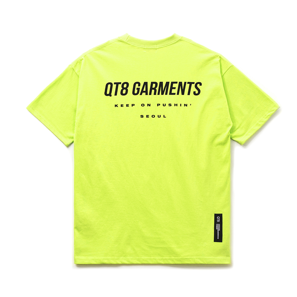 FG Simple Logo Tee (Lime)