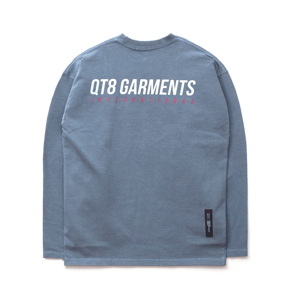 [FAMILY SALE 50% OFF]ND I.T Pigment L Sleeve (Sky Blue)