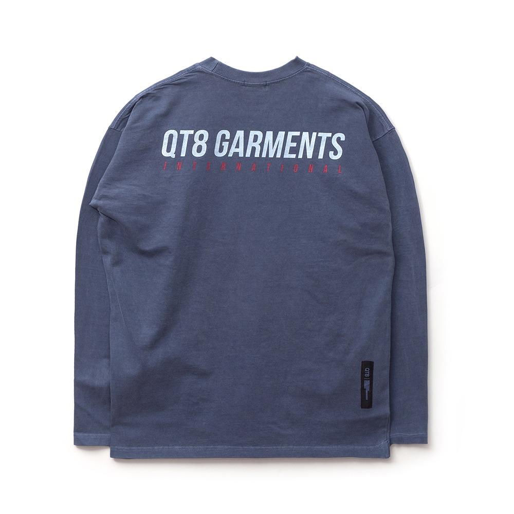 ND I.T Pigment L Sleeve (Navy)