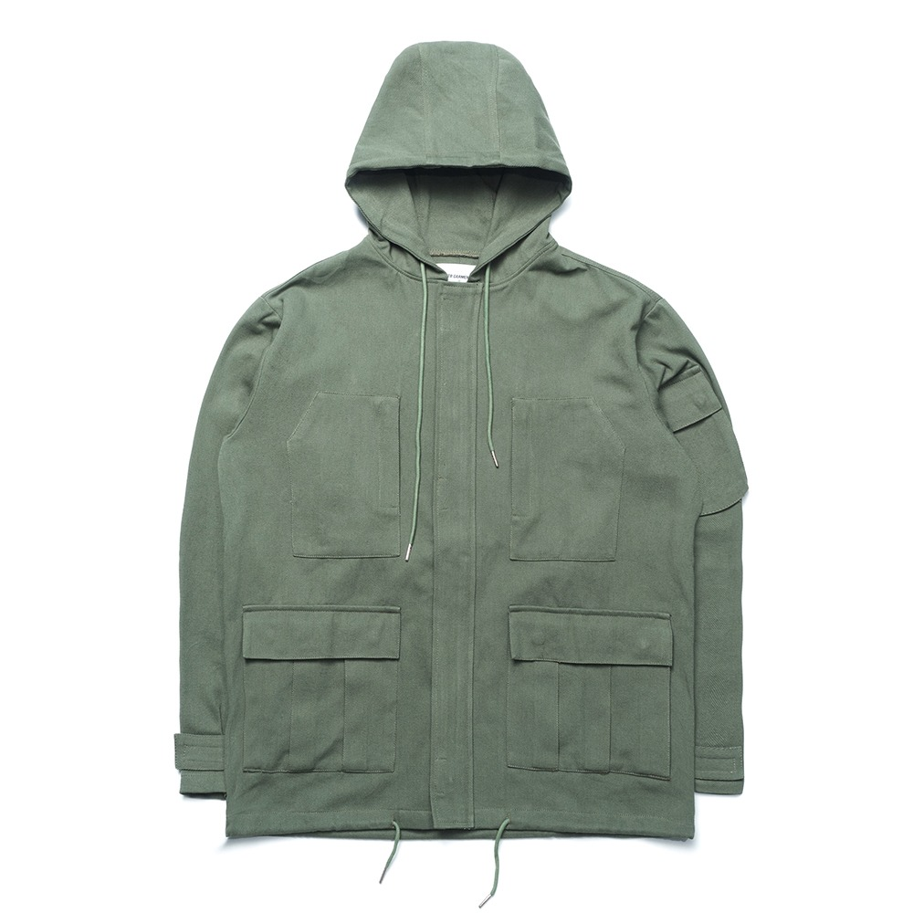 [FAMILY SALE 50% OFF]ND Cotton Field Jacket (Khaki)