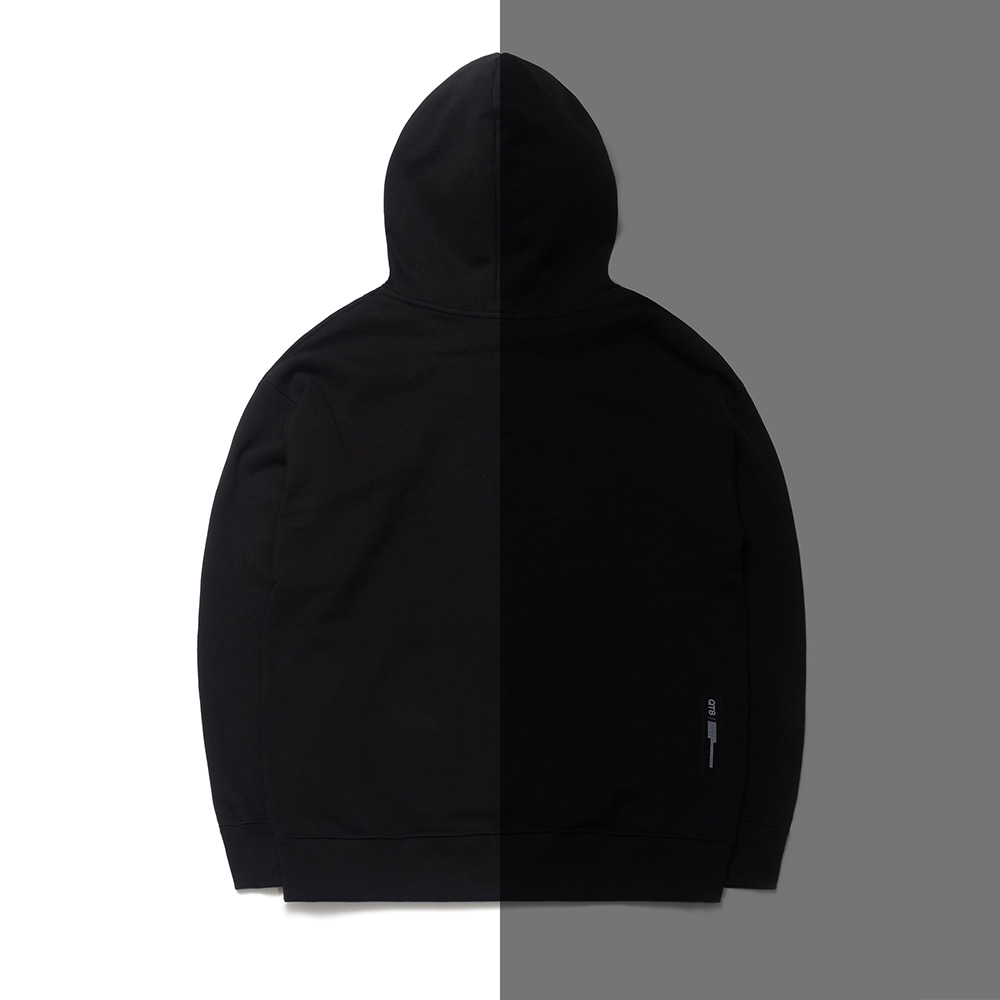 ND Reflective B.I Hood Tee (Black/Black)